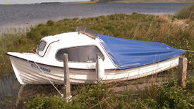 Colewood Craft fishing boat & trailer.