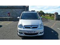 58 Plate Vauxhall Meriva Design 1.6L £1675OVNO
