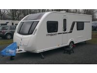 2013 SWIFT CHALLENGER SPORT 564 4 BERTH CARAVAN