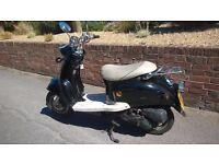 Retro Scooter Moped direct bikes 50cc not vespa or lambretta