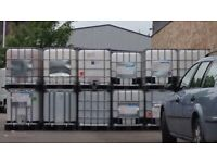 600 Litre IBC Bulk Liquid Storage Containers Tank, Good Condition for sale  Blandford Forum, Dorset