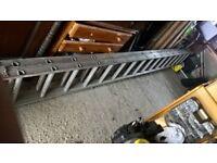 16 run double alloy ladder