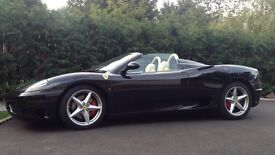 Wedding/prom/special occasions chauffeur driven Ferrari