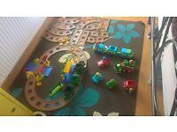 ELC Happy Land train track and extras - Please read descrption