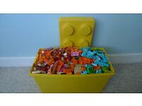 Lego bricks and pieces - 4kg