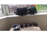 2 Pentax mx cameras