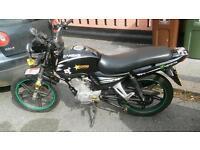 Jianshe 125cc 2012 12 months MOT