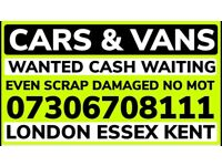 ✅🔴 ALL CARS AND VANS WANTED CASH TODAY EVEN SCRAP SELL MY VEHICLE COLLECT FAST ALL LONDON