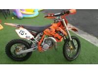 Ktm sx 85 big wheel motocross not cr kz yz pit bike