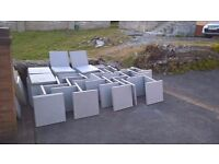 Brand New 450 X 450 Riven Paving Slabs with FREE DELIVERY in and around the Swansea area
