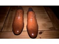 BRAND NEW MENS BROWN SHOES