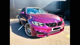 Bmw M3 in purple