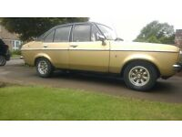 **REDUCED*** Escort Mk2 1.6 Ghia Auto 1980 same owner 36 years MOT lots of history totally original