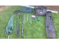 Job lot of fishing gear