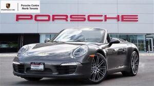 2014 Porsche 911 CABRIOLET, PDK, TURBO WHEELS