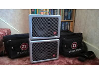 ZT Lunchbox Combo Amp and Extension Cabinet