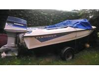 "Fletcher 14"" speed boat"