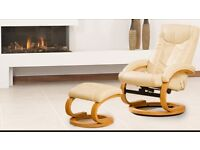 Sorbito swivel chair recliner massage with foot stool