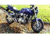 Honda CB 1300 ABS with only 436 miles from new.