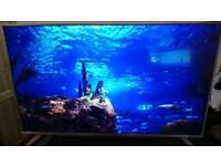 "Sharp 49"" Smart 4k uhd led tv with freeview"