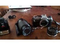 camera OM10 SLR