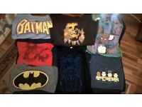 Comic Film 7 Nerdy T shirts with a vintage design/look