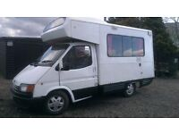 ford transit motorhome project with power steering