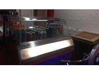 Commercial Display fridge cake fridge juice Friday