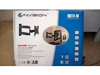 Invision low profile TV HDTV-M cantilever mount brand new unused and complete