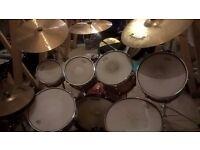 Premier Drum Kit with hardware