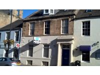 Spacious central first floor 2 bed furnished or unfurnished flat with parking