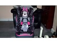 Minnie Mouse Car Seat Stage 3 Brand New