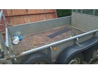 ifor williams 8x5 twin axel trailer