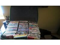 94 dvds no copys includes the green zone,309 , pearl harbor, weeds, black hawk down, box set lost