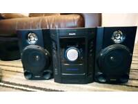 Phillips sound system like new