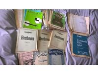 Various sheet Music Books for Violin & Piano