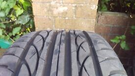 4x nearly new tyres 245/45l17