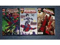 3 Deadpool comics
