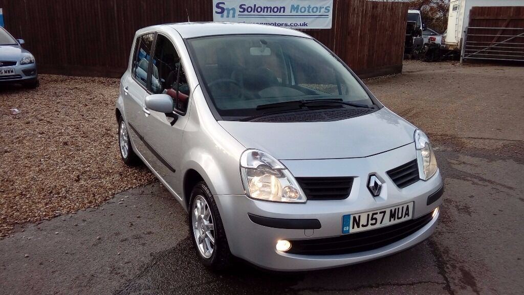 LOW MILEAGE RENAULT MODUS 1.2L & LONG MOT AND FULL SERVICE HISTORY