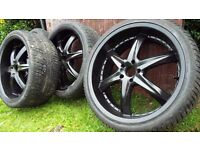 "BMW X5 22"" Alloy Wheels"