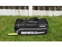 Full Cricket Equipment set for junior or small adult