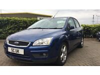 LOOK!!! FORD FOCUS TDCI GHIA NEW MOT, NEW CLUTCH, CREAM LEATHER SEATS DRIVES PERFECT, CHEAP CAR!!