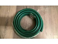 Garden hose with attachments