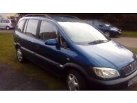 Vauxhall Zafira 1.6L Comfort 7-seater