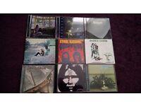 Rare progressive rock cd collection..