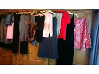 Large bundle of ladies clothes size 12