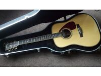 Yamaha DW-10 Acoustic with pickup