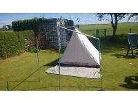 "Lichfield Paladin Classic XL4 Vintage ""A Frame"" Tent (canvas)"