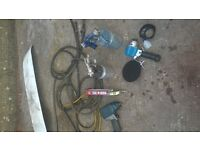 air tools various job lot impact gun etc