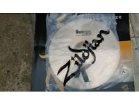 "k zildjian 18""dark thin crash cymbal, new"